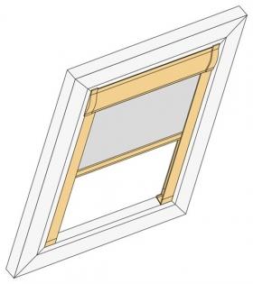 Dachfensterrollo Deluxe