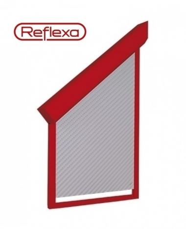 Schrägrollladen Reflexa® AsyRoll comfort